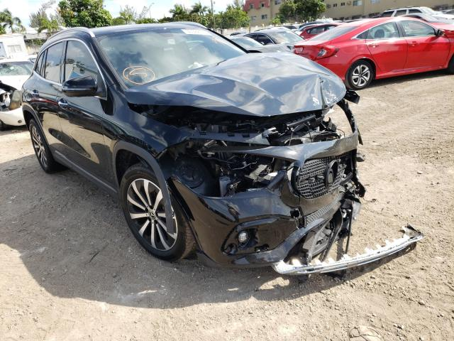 Salvage cars for sale from Copart Opa Locka, FL: 2021 Mercedes-Benz GLA 250 4M