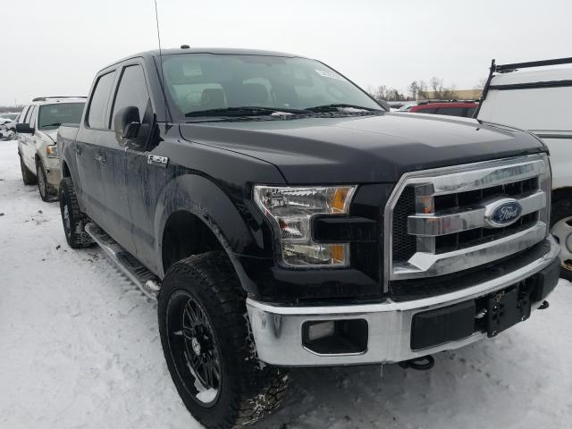Salvage cars for sale from Copart Bridgeton, MO: 2016 Ford F150 Super
