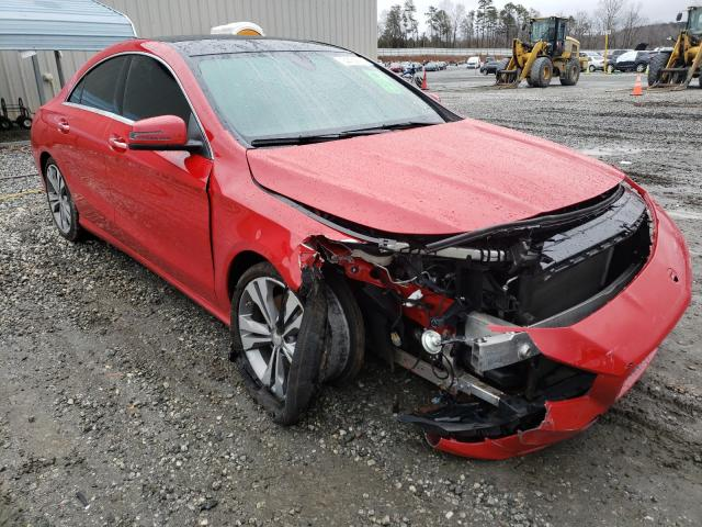 Mercedes-Benz salvage cars for sale: 2016 Mercedes-Benz CLA 250