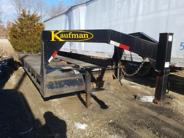 Kaufman salvage cars for sale: 2017 Kaufman Trailer