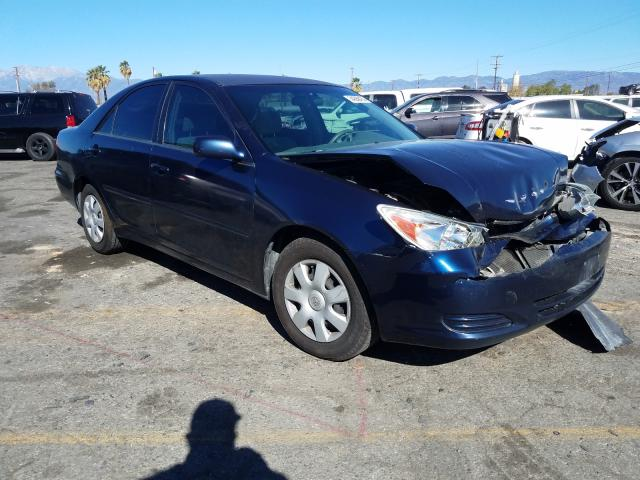 Salvage cars for sale from Copart Colton, CA: 2003 Toyota Camry LE