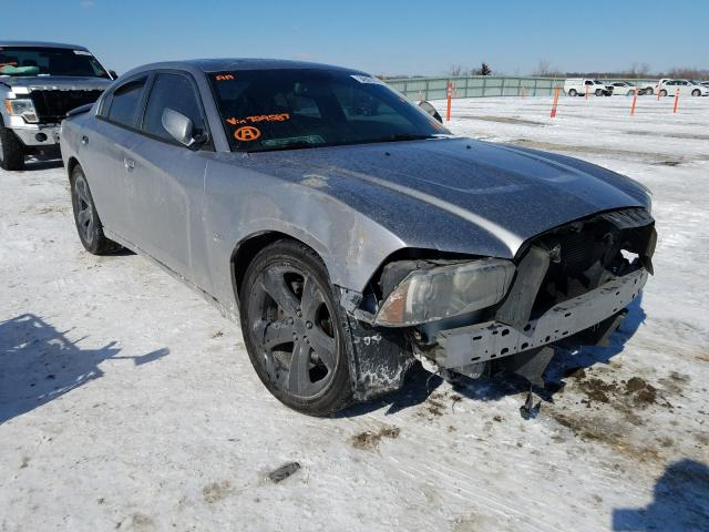 Salvage cars for sale from Copart Kansas City, KS: 2013 Dodge Charger R