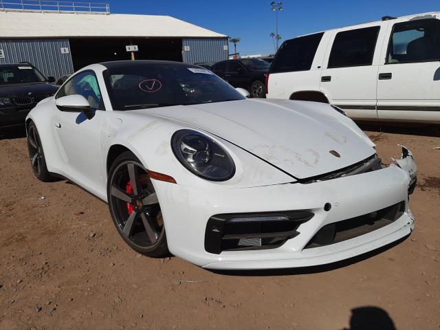 Salvage cars for sale from Copart Phoenix, AZ: 2021 Porsche 911 Carrer