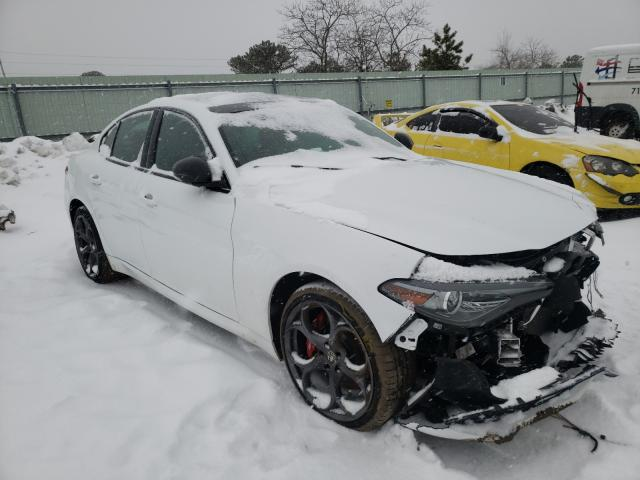 Alfa Romeo salvage cars for sale: 2019 Alfa Romeo Giulia TI