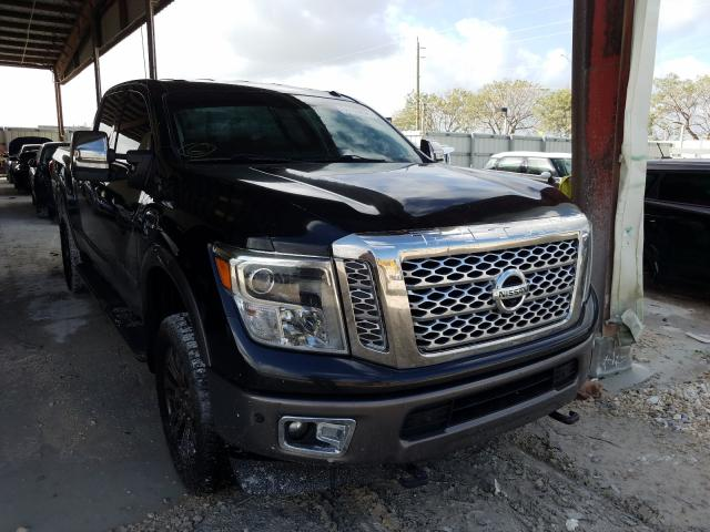 Salvage cars for sale from Copart Homestead, FL: 2016 Nissan Titan XD S