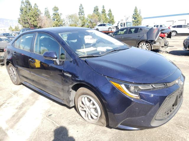 Salvage cars for sale from Copart Rancho Cucamonga, CA: 2021 Toyota Corolla LE