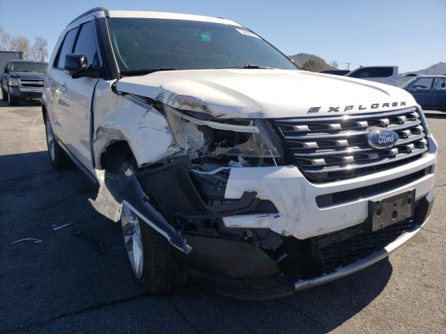 Salvage cars for sale from Copart Colton, CA: 2016 Ford Explorer X