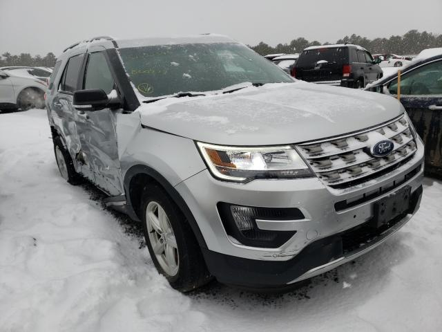 Salvage cars for sale from Copart Brookhaven, NY: 2016 Ford Explorer X
