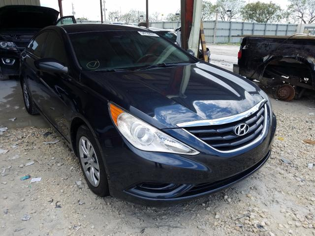 Salvage cars for sale from Copart Homestead, FL: 2011 Hyundai Sonata GLS