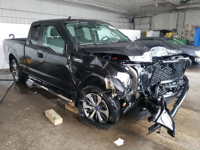 Salvage cars for sale from Copart Candia, NH: 2020 Ford F150 Super