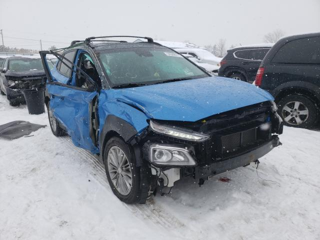 Salvage cars for sale from Copart Columbia Station, OH: 2021 Hyundai Kona SEL