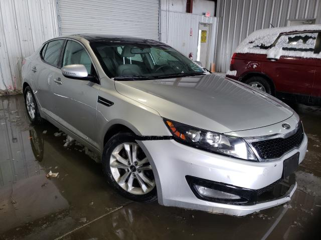 Salvage cars for sale from Copart Albany, NY: 2011 KIA Optima EX