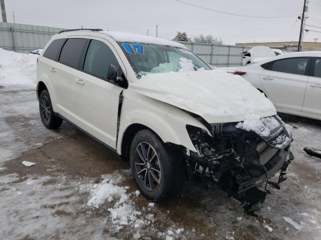Salvage cars for sale from Copart Lexington, KY: 2017 Dodge Journey
