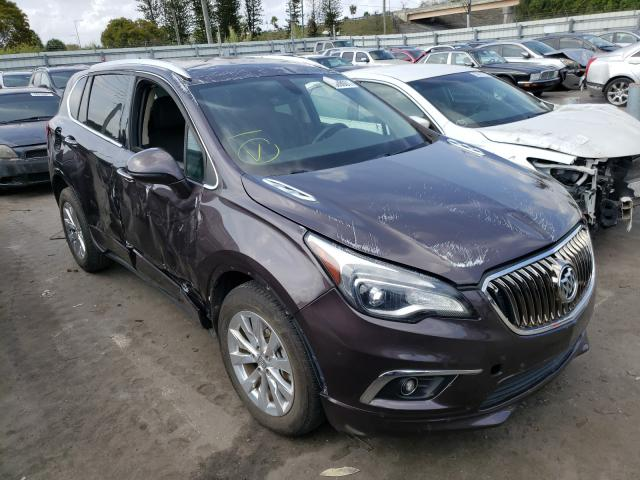 Buick salvage cars for sale: 2017 Buick Envision E