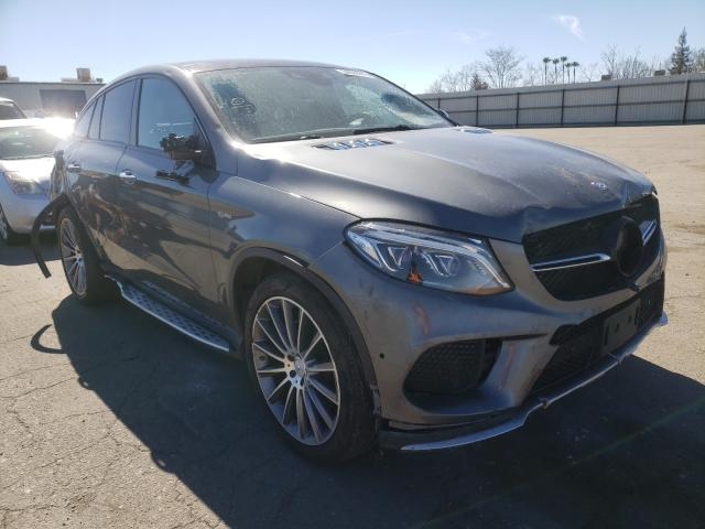 Mercedes-Benz salvage cars for sale: 2017 Mercedes-Benz GLE 43 AMG