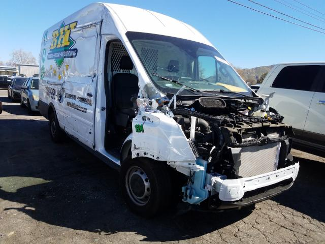 Salvage cars for sale from Copart Colton, CA: 2020 Ford Transit T