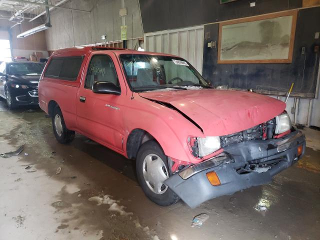 Salvage cars for sale from Copart Indianapolis, IN: 2000 Toyota Tacoma