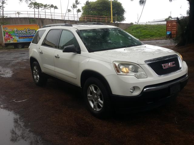 Salvage cars for sale from Copart Kapolei, HI: 2012 GMC Acadia SLE