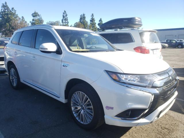 Salvage cars for sale from Copart Rancho Cucamonga, CA: 2019 Mitsubishi Outlander