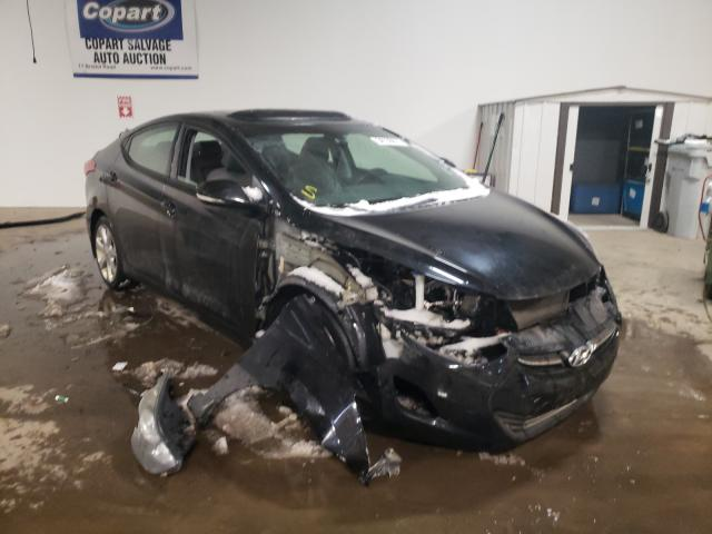 Salvage cars for sale from Copart Chalfont, PA: 2013 Hyundai Elantra GL