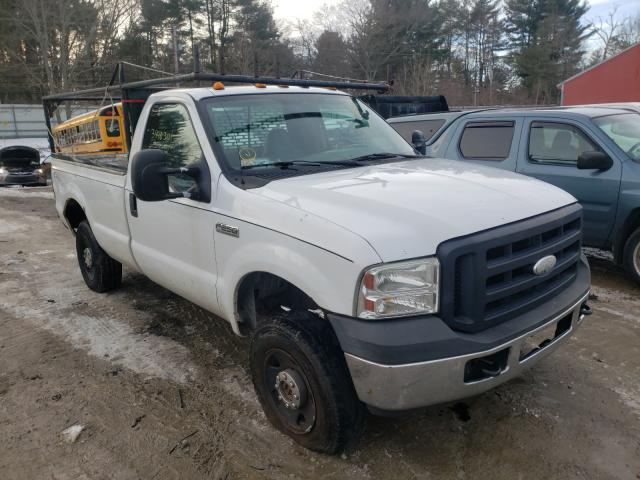 Salvage cars for sale from Copart Mendon, MA: 2007 Ford F250 Super