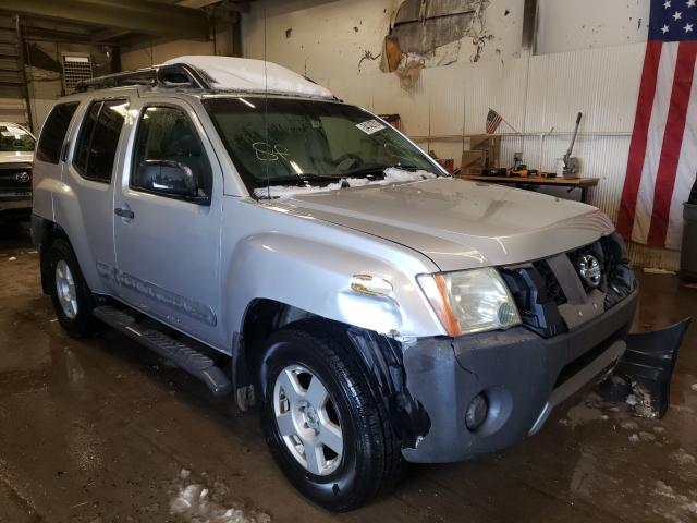 Nissan salvage cars for sale: 2005 Nissan Xterra OFF