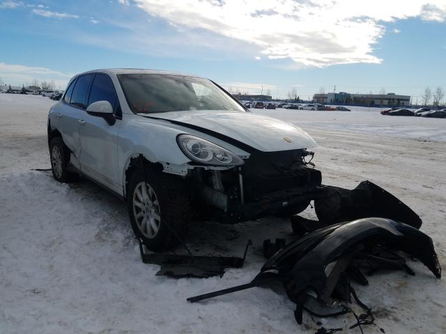 Porsche salvage cars for sale: 2014 Porsche Cayenne