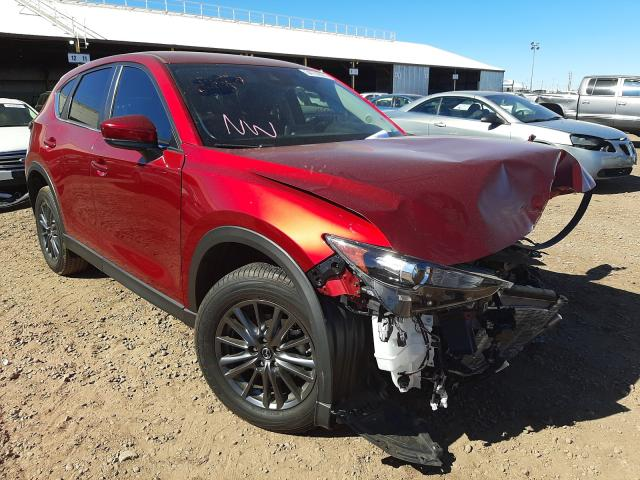 Salvage cars for sale from Copart Phoenix, AZ: 2020 Mazda CX-5 Touring