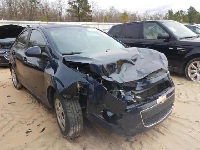 Salvage cars for sale from Copart Gaston, SC: 2015 Chevrolet Sonic LS