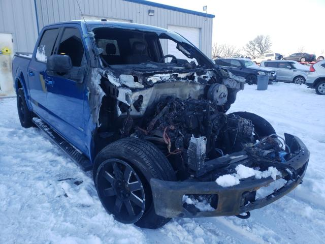 Salvage cars for sale from Copart Rogersville, MO: 2016 Ford F150 Super