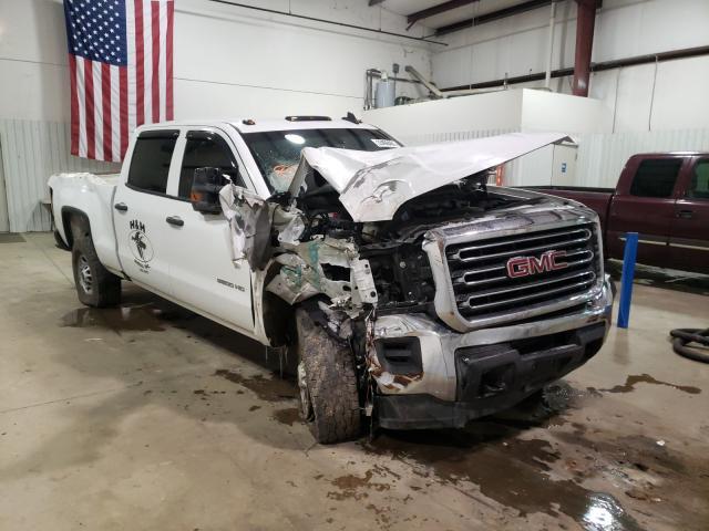 Salvage cars for sale from Copart Lufkin, TX: 2017 GMC Sierra K25