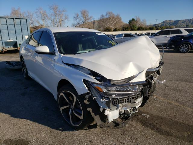 Salvage cars for sale from Copart Colton, CA: 2020 Honda Accord Sport