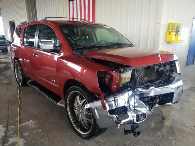 Salvage cars for sale from Copart Homestead, FL: 2005 Nissan Armada SE