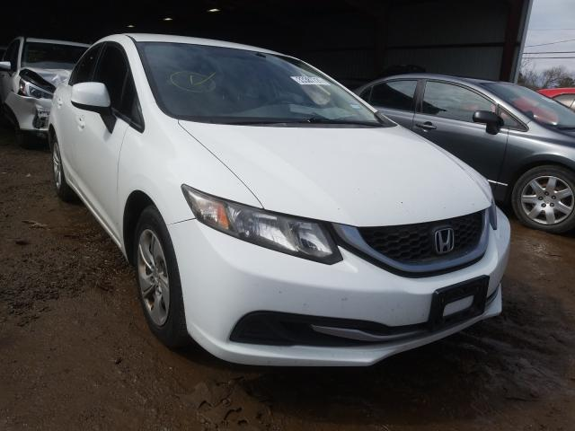 Salvage cars for sale from Copart Houston, TX: 2013 Honda Civic LX