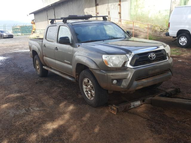 Salvage cars for sale from Copart Kapolei, HI: 2012 Toyota Tacoma DOU