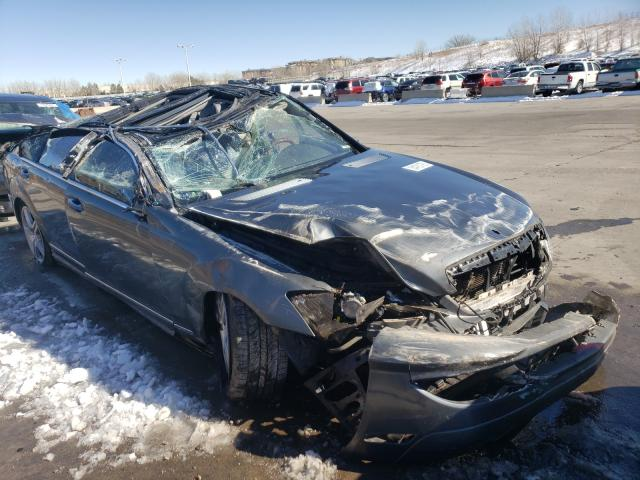 Mercedes-Benz salvage cars for sale: 2009 Mercedes-Benz S 550 4matic