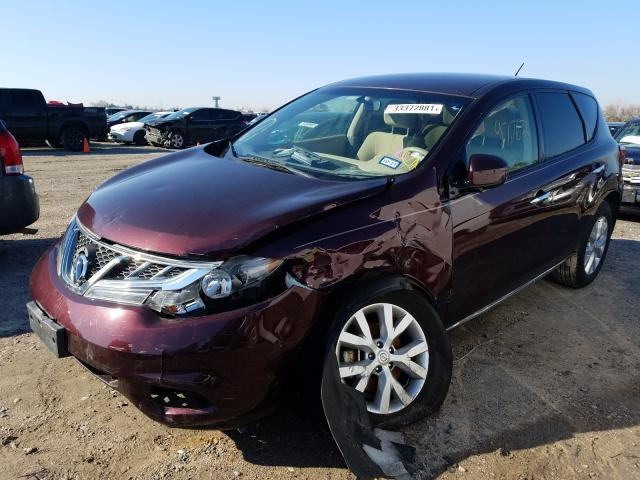 2014 NISSAN MURANO S - Left Front View