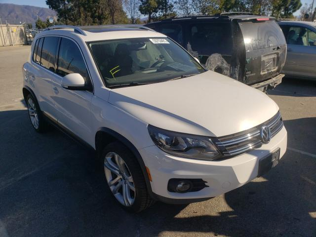 Salvage cars for sale from Copart Rancho Cucamonga, CA: 2013 Volkswagen Tiguan S
