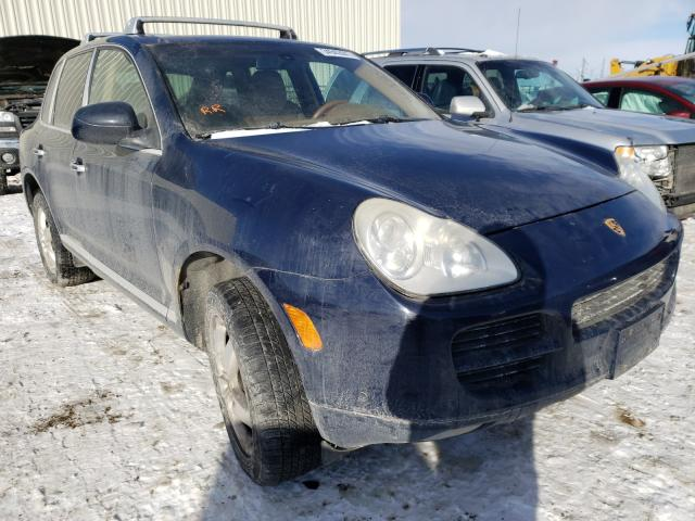 Porsche salvage cars for sale: 2006 Porsche Cayenne S