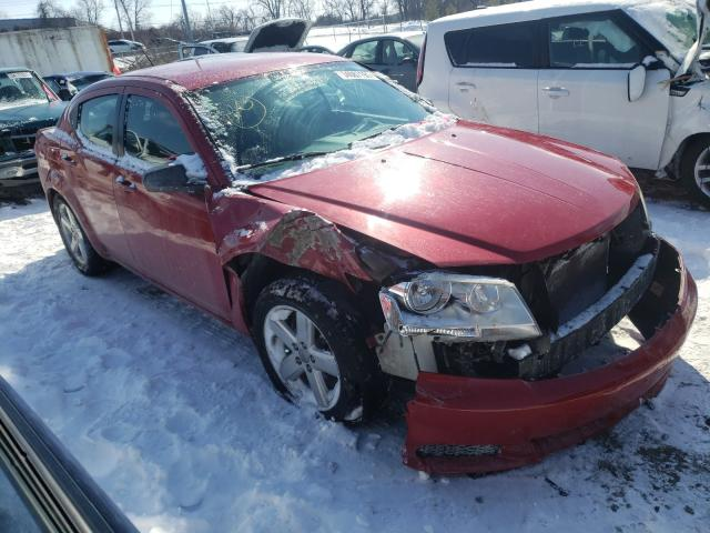 Salvage cars for sale from Copart Bridgeton, MO: 2013 Dodge Avenger SE