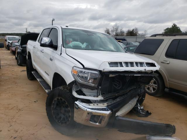 Salvage cars for sale from Copart Gaston, SC: 2018 Toyota Tundra CRE