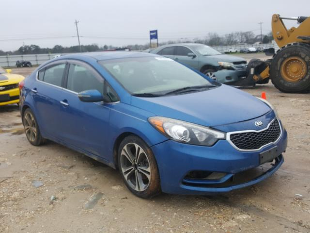 Salvage cars for sale from Copart Newton, AL: 2015 KIA Forte EX
