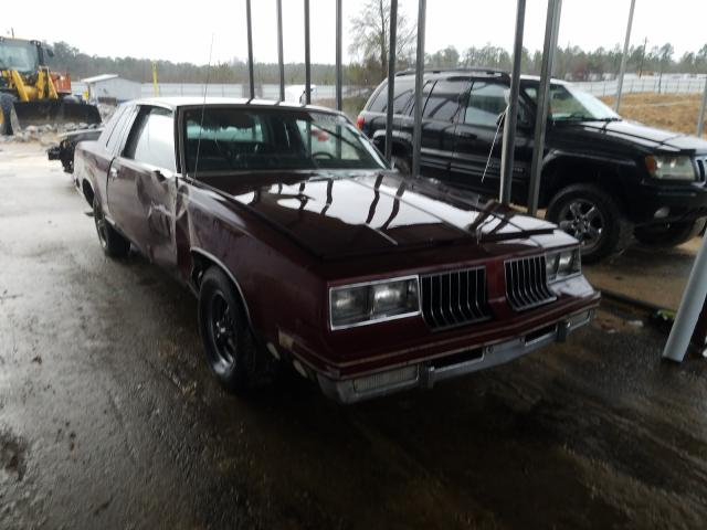 Oldsmobile Cutlass salvage cars for sale: 1985 Oldsmobile Cutlass