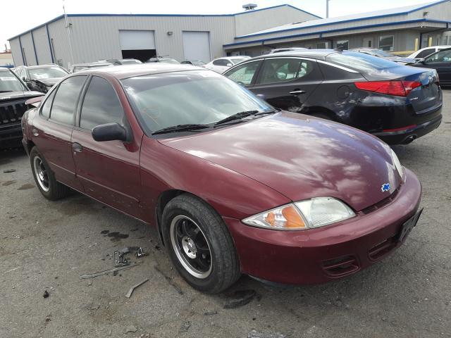 Salvage cars for sale at Las Vegas, NV auction: 2001 Chevrolet Cavalier L