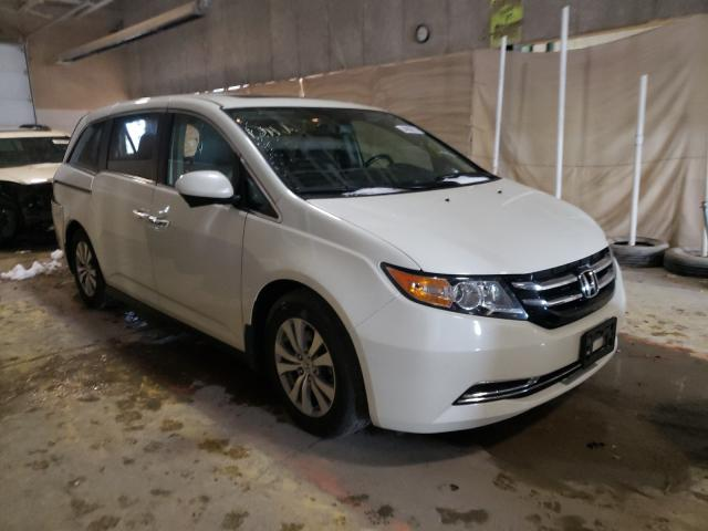 Salvage cars for sale from Copart Indianapolis, IN: 2017 Honda Odyssey EX