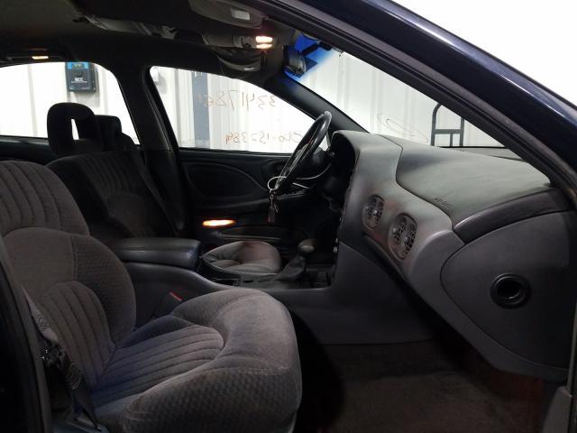 2000 PONTIAC BONNEVILLE - Left Rear View