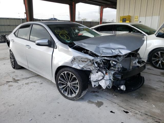 Salvage cars for sale from Copart Homestead, FL: 2016 Toyota Corolla L
