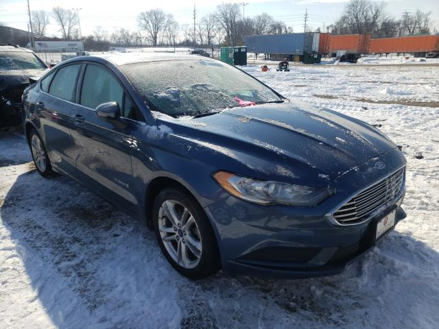 Salvage cars for sale from Copart Bridgeton, MO: 2018 Ford Fusion SE