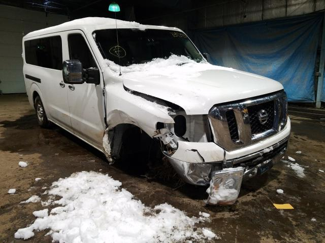 Salvage cars for sale from Copart Hammond, IN: 2012 Nissan NV 2500