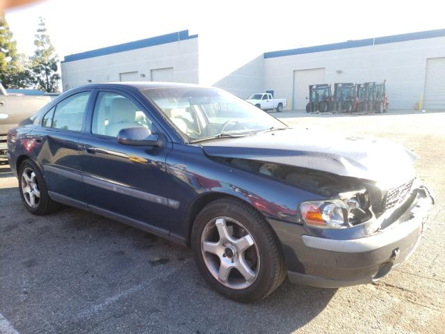 Salvage cars for sale from Copart Rancho Cucamonga, CA: 2003 Volvo S60 2.4T